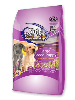 Nutrisource Large Breed Puppy Chicken & Rice Food