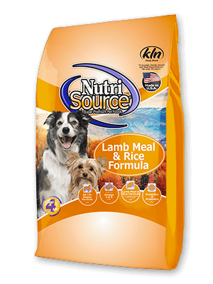 Nutrisource Lamb and Rice Dog Food
