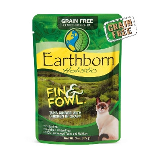 Earthborn Holistic® Fin & Fowl™ 3oz for Cats