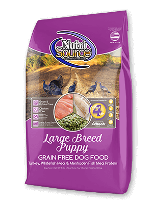 Nutrisource Grain Free Large Breed Puppy Nutrisource Grain Free Large Breed Puppy