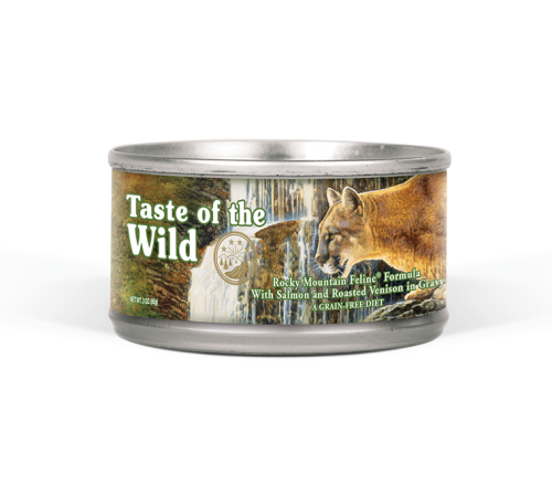 Taste of the Wild Grain Free Rocky Mountain Feline Recipe Canned Cat Food