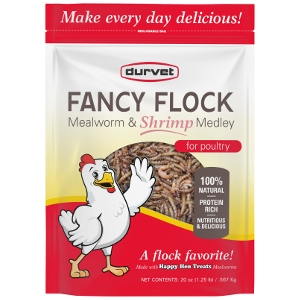 FANCY FLOCK™ MEALWORM & SHRIMP MEDLEY