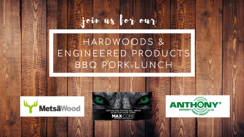 Hardwoods & Engineered Products BBQ Pork Lunch