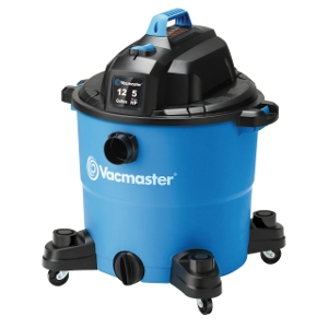 Heavy-Duty Wet/Dry Vac, 12 Gallon