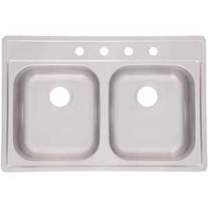 Double Bowl S.S. Kitchen Sink