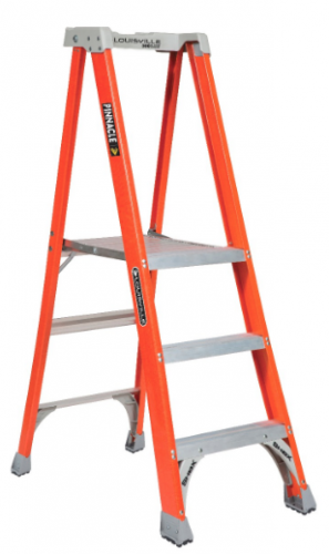3' Fiberglass Platform Step Ladder