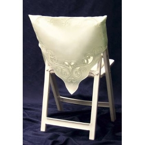 Ivory Square Top Chair Shawl