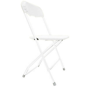 White Fiberglass Chair