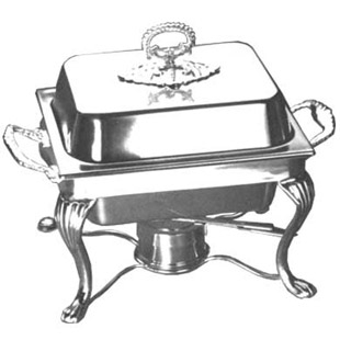 4 Qt. Square Chafer