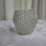 Silver Tealight Candle Holder