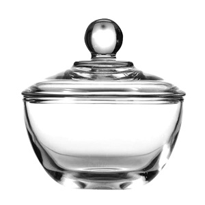 China Glass Sugar Bowl