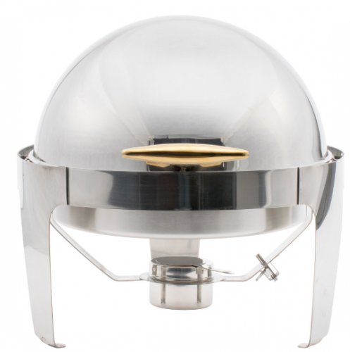 6qt. Round Roll Top Chafer