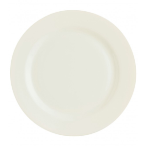 China White Pearl Salad Plate