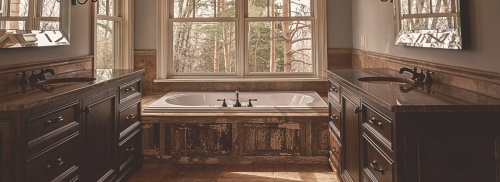 We can make your dream bathroom a reality at Shiver Lumber!