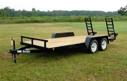 Anderson 7x16 Equipment Trailer