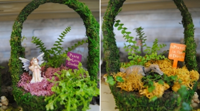 Spring Fairy Garden Workshops for Kids