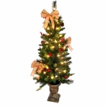 4' CLR Porch Tree/Bows