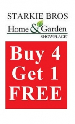 Offered By: Starkie Bros. Garden Center. JOIN OUR LOYALTY PROGRAM