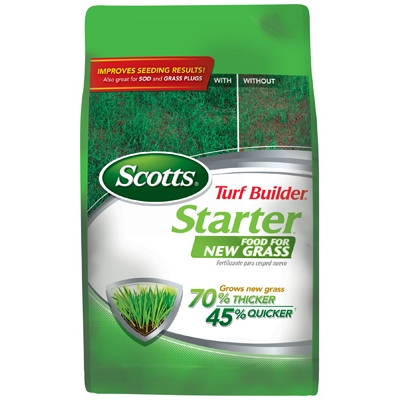 Scotts Turf Builder Starter Fertilizer, 1M
