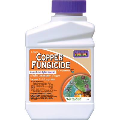 Bonide Liquid Copper Fungicide Concentrate, 1 PT