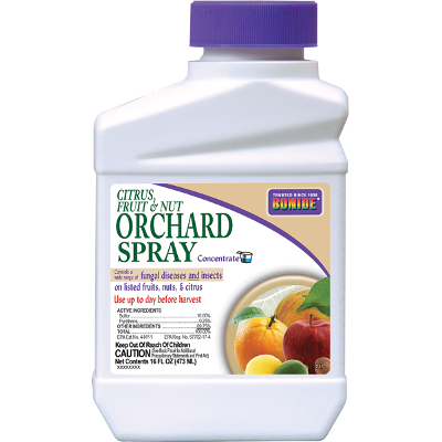 Bonide Citrus, Fruit & Nut Orchard Spray Concentrate, 1 Qt.