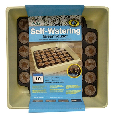 Jiffy Self Watering Greenhouse, 34 ct.