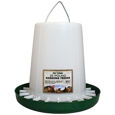 25LB Open Top Hanging Poultry Feeder