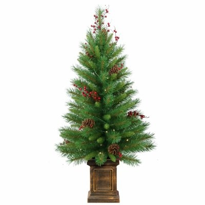 4' Woodland Berry Artificial Entrance Tree