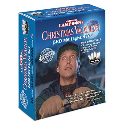 50CT. Christmas Vacation Pure White LED Light Set
