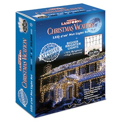 Christmas Vacation 100LT Pure White LED Net Light Set