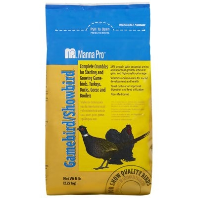 5LB Game Showbird Feed