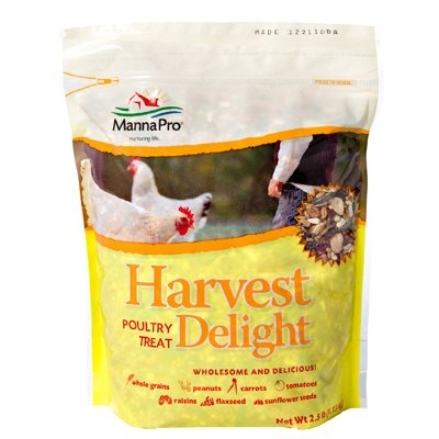 2.5LB Manna Pro Harvest Delight™ Poultry Treat