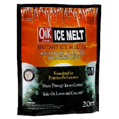 20LB Qik Joe Ice Melt Pellets