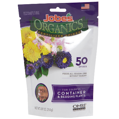 Jobe's Organics® Fertilizer Spikes for Container & Bedding Plants