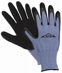 MED Blue Latex Coat Glove