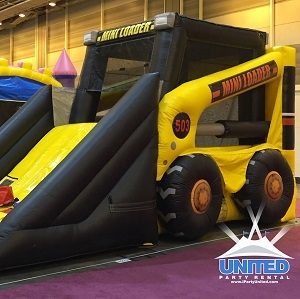 Loader Combo Bounce House