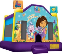 Dora The Explorer Theme Bounce House