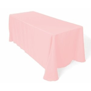 Tablecloth, Light Pink Long 60x120""
