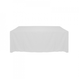 Tablecloth, White Long 90x156""