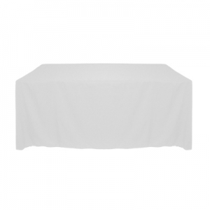 Tablecloth, White Long 90x132""