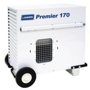 L.B. White Premier 170 Portable Forced Air Ductable Unit Heater