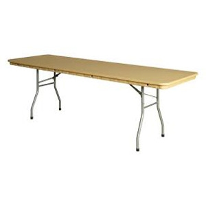 8' Plastic Rhino Banquet Table