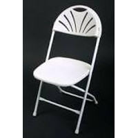White Flare Chair