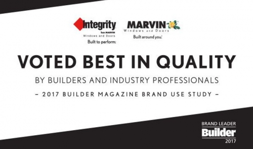 Voted Best In Quality- Marvin and Integrity