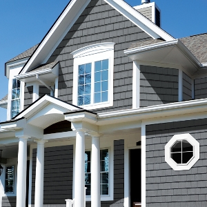 Grayne Engineered PVC Shingle Siding
