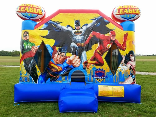 Bounce House, Justice League
