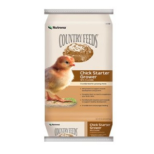 Nutrena Country Feeds Chick Starter Grower Feed | Bayou