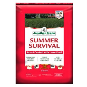 Jonathan Green Summer Survival Insect Control with Lawn Food 13-0-3