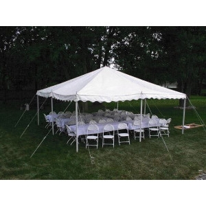 20'x20' Banquet Table Tent Package #1