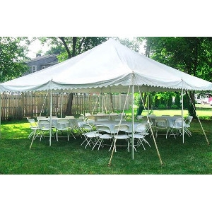 20'x20' Round Table Tent Package #2